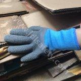 Перчатки работы зимы при покрынный латекс (LY2037)