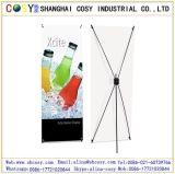 Présentoir en aluminium de drapeau de la Corée X pour l'impression et la publicité
