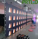 1/32 visualización de LED de interior del alquiler de la exploración P2.0 con el panel de aluminio 576 * 576 milímetros