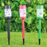 말뚝을%s 가진 다채로운 디자인 낮은 전압 태양 정원 빛