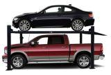 4コラムの縦のスタッカーの駐車エレベーターの簡単な4郵便車の駐車上昇