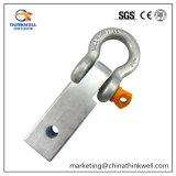 """Legamento forgiato della ricevente dell'anello a """"D"""" con l'anello di trazione della tibia di Soild della serratura"""