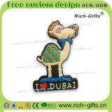 Les aimants de réfrigérateur de PVC de souvenir ont personnalisé le chameau de Dubaï de cadeaux de promotion (RC-DI)