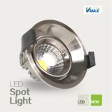 COB aluminio LED abajo COB Spotlight Luz