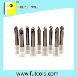 90 Grad Top Angle Solid Carbide Spot Drill für Aluminum Processing