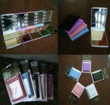 Nuevo espejo ligero del maquillaje del diseño LED del OEM (SM-M-1001)