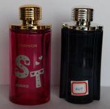 Botella de cristal del perfume