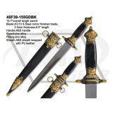 "14.4 "" общих S. Steel Mirror Finished Sword с Zinc Alloy Handle: 4sf41-145co"