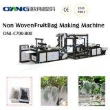 Máquina de embalagem não tecida inteiramente automática do saco da fruta