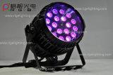 18X10W RGBW4in1 kann im Freien Summen-Stadiums-Licht LED NENNWERT beleuchten