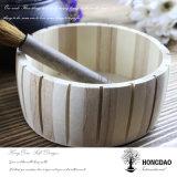 Hongdao Box_D de empaquetage en bois rond personnalisable de vente chaud