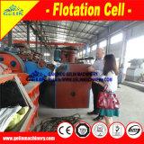 Tizones de la flotación de la máquina de la flotación de la mina de Coltan