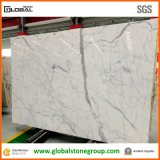 Верхний сегмент итальянское White Marble для Hospitality Furniture Counter Tops