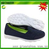 Glissade respirable d'arrivée neuve sur des chaussures pour les femmes (GS-76871)