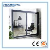 Porte coulissante lourde en aluminium d'interruption Non-Thermal chaude de vente de Roomeye pour le balcon