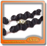 Texture lâche malaisienne de cheveux de vague de Kbl