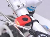 Lumière d'avertissement de bicyclette de la vente 2016 de cobra chaud de silicones