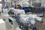 Tubulação que faz a linha da extrusão da tubulação da máquina LLDPE