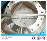 Borde inoxidable de la placa de acero En1092-1 Type01 de la cara plana