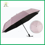 [توب قوليتي] يطوي صاحب مصنع رخيصة [سون] خارجيّة ثلاثة مظلة مصغّرة