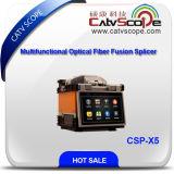 Splicer Csp-X5 сплавливания стекловолокна высокой эффективности многофункциональный