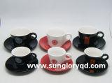Caneca de café cerâmica da porcelana do copo de chá do logotipo feito sob encomenda de Bd002