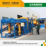 Machine de moulage hydraulique complètement automatique de bloc (QT10-15)
