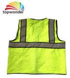 Personalizar a veste reflexiva do vário engranzamento, veste da segurança, vestuário da segurança, roupa da segurança