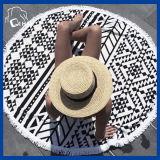 Tovagliolo di spiaggia del cerchio del filo di cotone (QHB989812)