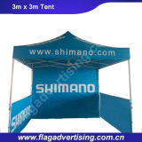 Wind feste tragbare Polyester Folding Pop Up Strand-Zelt