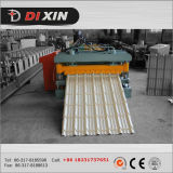 Cangzhou Dixin Export zu Kazarhstan, Glzaed Stahlfliese 1100 walzen die Formung der Maschine kalt