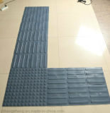 Telha tátil de borracha antiderrapante de Warnning PVC/TPU