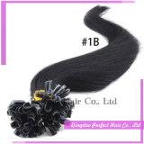 ブロンドの100つのケラチンによってひっくり返される人間の毛髪の拡張ケラチンの毛