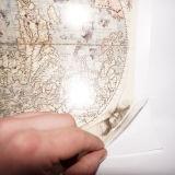 Película em branco de Hydrographics da película da impressão de transferência da água da película de cópia do Aqua do Inkjet PVA da largura 1.27m/0.5m/1m de Tsautop