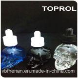 бутылка зеленого черепа 30ml стеклянная с Childproof крышкой и тонкой капельницей в Китае