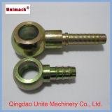 Metric Banjo DIN 7642 Instalação hidráulica com zinco (70011)