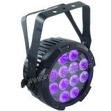 Wasserdichtes im Freien 18*15W RGBWA+UV 6in1 LED flaches dünnes NENNWERT Licht