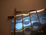 Verwarmer van het Water van het Absorptievat van de Hoge druk van de vlakke plaat de Blauwe Zonne