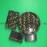 덮개를 가진 Eco-Friendly 처분할 수 있는 플라스틱 초밥 콘테이너 또는 플라스틱 쟁반