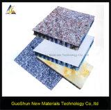 Dekoratives Marmor-und Felsen-Farben-Fassade-Umhüllung-Aluminiumbienenwabe-Panel