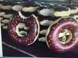 Swim-Ring-aufblasbarer Krapfen-Pool-Gleitbetriebs-erwachsene Brezel-Pool-Gleitbetriebe