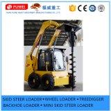 Schienen-Ochse-Ladevorrichtung der Perkins-/Xinchai motorangetriebener bester Dieselverkaufs-Minirad-Ladevorrichtungs-65HP mit Cer Cerfication