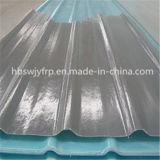 Folha ondulada do policarbonato FRP de China Clearful do painel do telhado da clarabóia da fibra de vidro