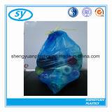 Мешок отброса Drawstring HDPE цены изготовления пластичный на крене