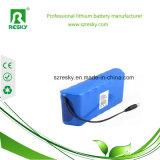 Paquete de la batería recargable de la E-Bici del tubo 48V 6ah de la botella de agua
