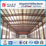 Пакгауз стальной структуры конструкции большой пяди самомоднейший