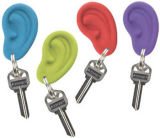 Qualität Plastic Promotional 3D Silicone Ear Key Chain (SB-008)