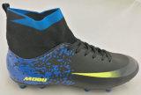 Новый ботинок футбола атлетического спорта с высоким качеством носка Flyknit