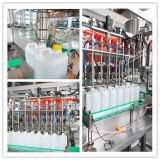オイル、洗濯洗剤、シャンプー等のための自動粘性液体充填機