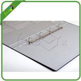 Haltbares Hebel-Bogen-Datei-Faltblatt der PappeA4 mit Metall